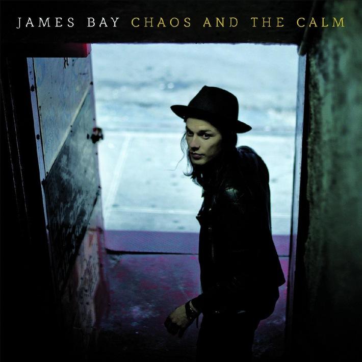 "UK-Shootingstar James Bay erobert mit ""Chaos And The Calm"" Platz 3 der deutschen Albumcharts"