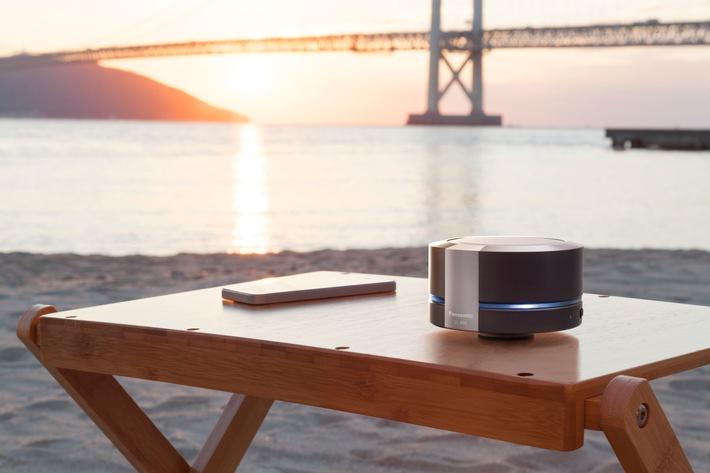 Neuer Bluetooth Lautsprecher SC-RB5 von Panasonic mit Resonance Bass Technologie