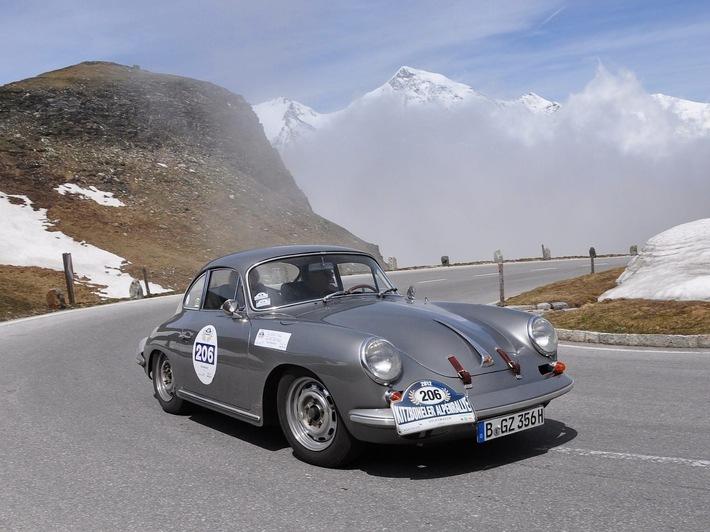 Automobilklassiker. Alpenpässe. Abenteuer.  30 Jahre Kitzbüheler Alpenrallye