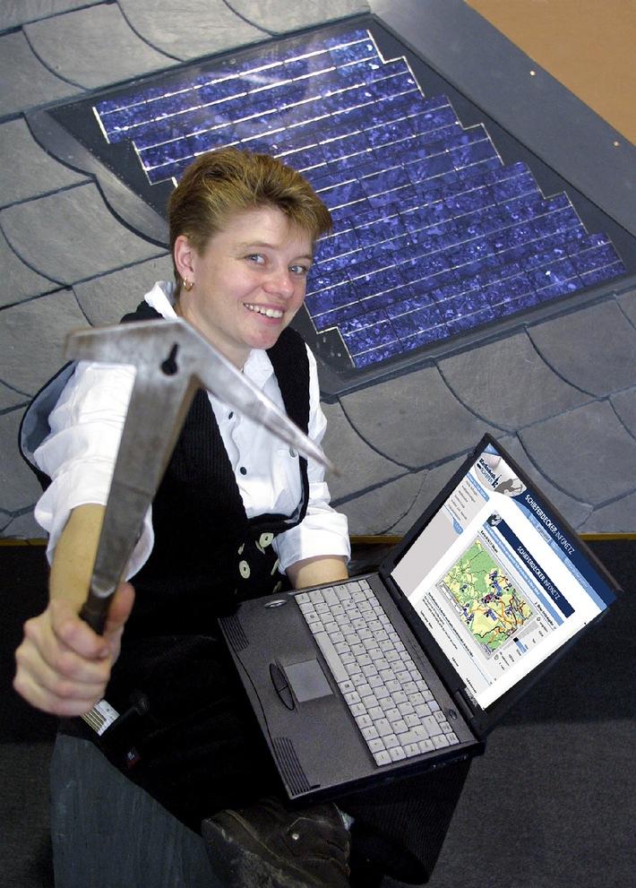 Der Schieferdecker kommt übers Internet: Neue Wege zu Fach-Handwerkern / Messetrend: Naturdächer holen die Energie ins Haus