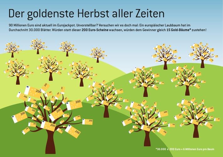 90 Mio. Euro im Jackpot / Der goldenste Herbst aller Zeiten / Fragen an Andreas Kötter - Chairman von Eurojackpot