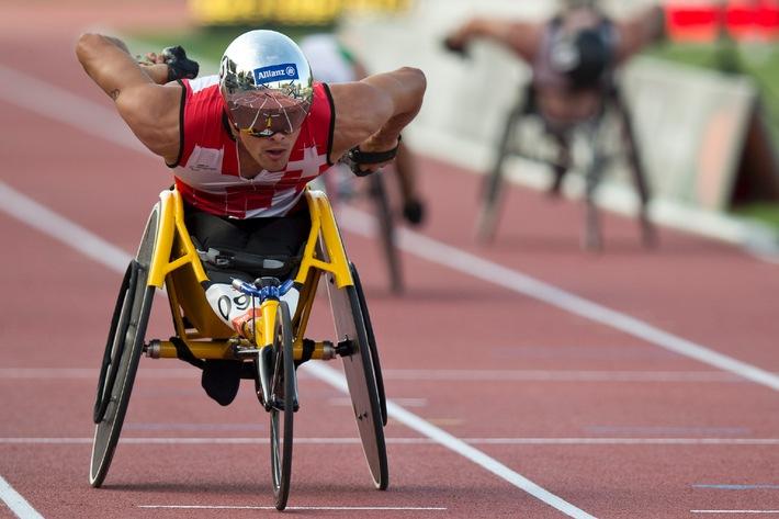 Allianz Suisse et Swiss Paralympic prolongent leur partenariat (IMAGE/ANNEXE)