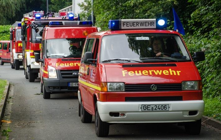 FW-GE: Feuerwehr Gelsenkirchen hilft nach schweren Unwettern im Kreis Borken und in Dorsten
