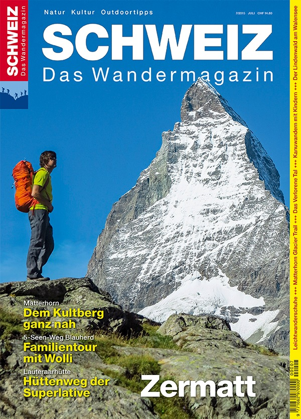 Wandermagazin SCHWEIZ: Der Superstar