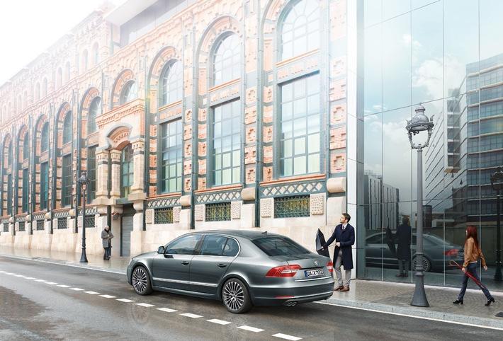 Sondermodell SKODA Superb Best of mit umfangreicher Ausstattung und attraktivem Preisvorteil