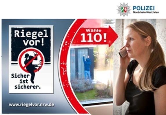 POL-REK: Zeugin vertrieb Einbrecher - Frechen