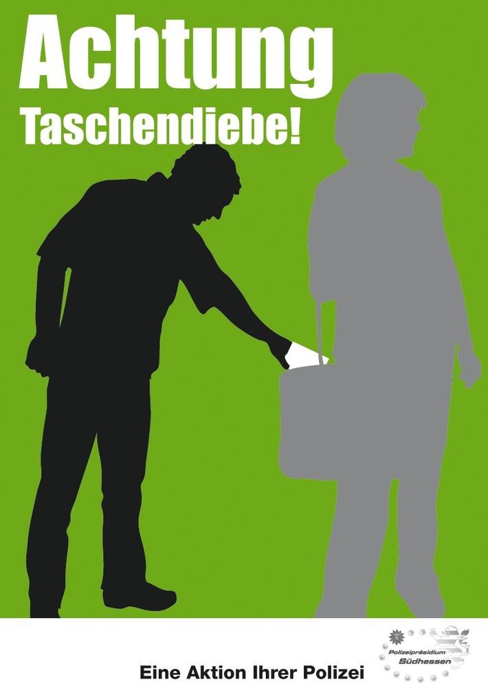 POL-DA: Aktion gegen Trick- und Taschendiebstahl