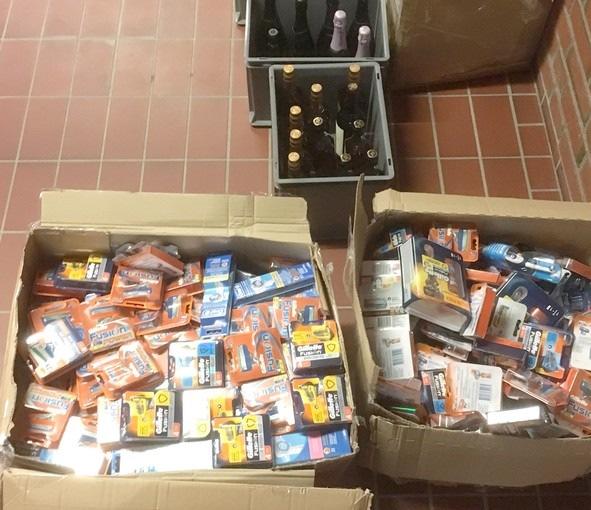 BPOL-FL: Bundespolizei stellt hochwertige Spirituosen und hunderte Hygieneartikel sicher