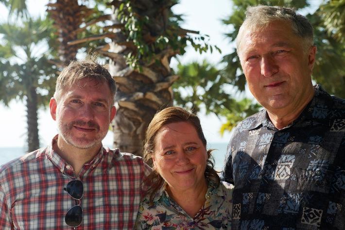Dreharbeiten für TV-Komödie mit Veit Stübner und Marie Gruber in Thailand und Hamburg