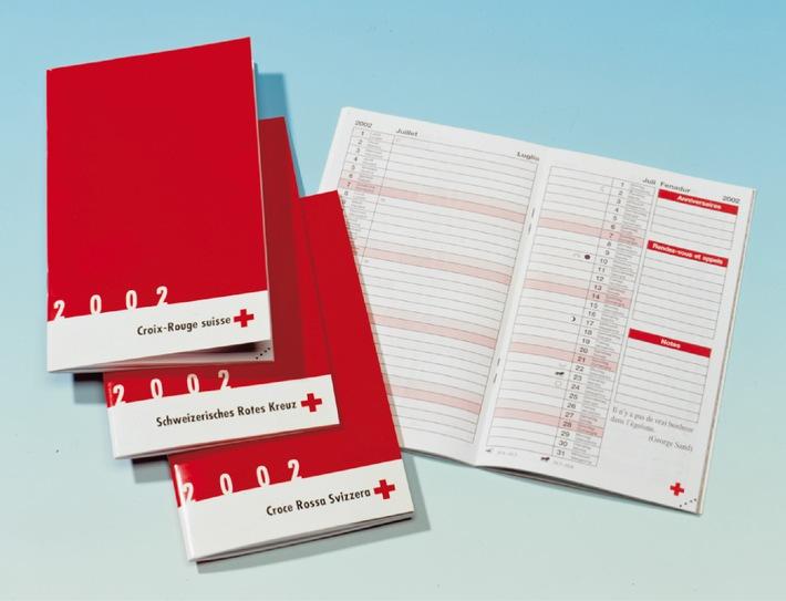 Croix-Rouge suisse : le nouvel agenda est arrivé