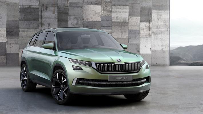 Auto-Salon Genf: SKODA elektrisiert mit neuer Studie