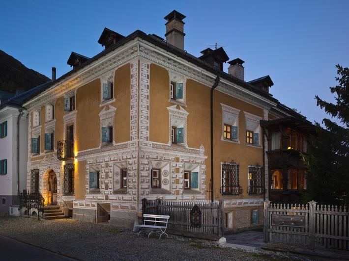 Embargo 18.9. 14 h 00 - Chesa Salis à Bever élu «Hôtel historique de l'année 2015»