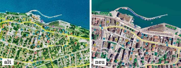 Scharf wie Chili - map.search.ch zeigt neue Bilder