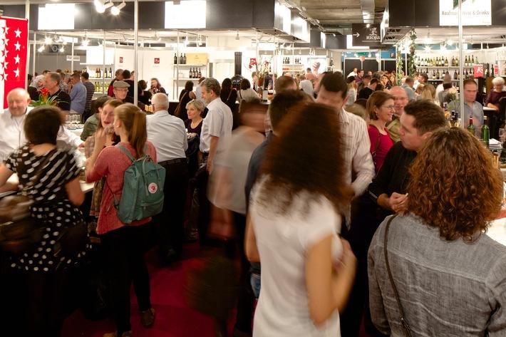 Basler Weinmesse 2014: Grösste Vinothek der Region mit 4500 Weine zum Probieren