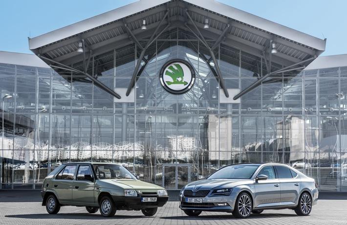 Eine starke Partnerschaft: 25 Jahre SKODA und Volkswagen