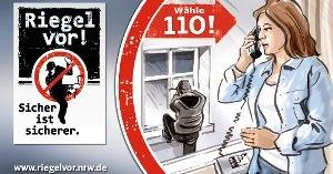 POL-REK: Aufmerksame Zeugen, gesicherte Wohnung - Frechen