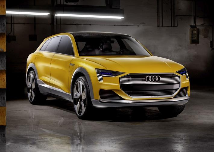Sportlich, effizient und rundum vernetzt - Audi auf der NAIAS 2016