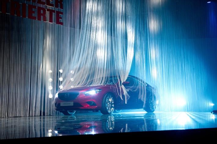 """Der Mazda6 ist """"Auto des Jahres 2013"""" in der Schweiz"""