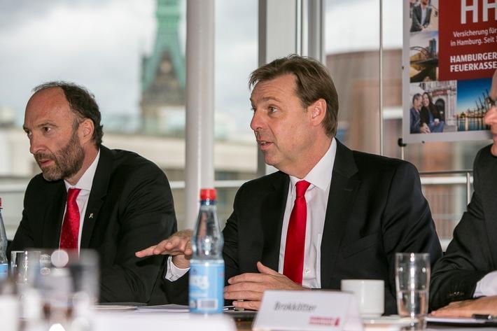 Hamburger Feuerkasse mit neuer Strategie / Weiter wachsen im Zukunftsmarkt Hamburg