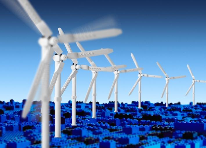Die LEGO Gruppe erreicht Ziel erneuerbarer Energieversorgung drei Jahre früher als geplant