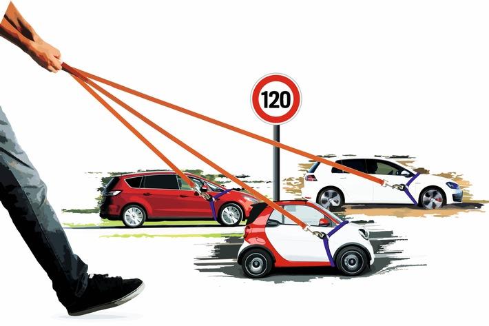 AUTO BILD exklusiv / Zwangsbremse: EU plant eingebaute Tempobegrenzung für alle Autos