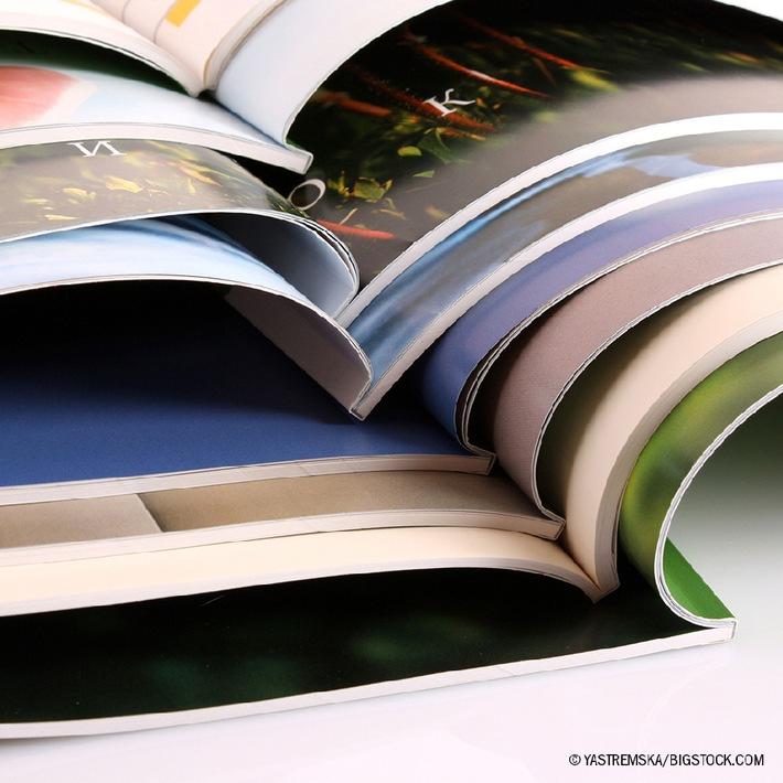 Noch mehr Broschüren-Vielfalt im Onlineshop diedruckerei.de / Klammerheftung, Klebe- und Spiralbindung in Auflagen von 1 bis 200.000