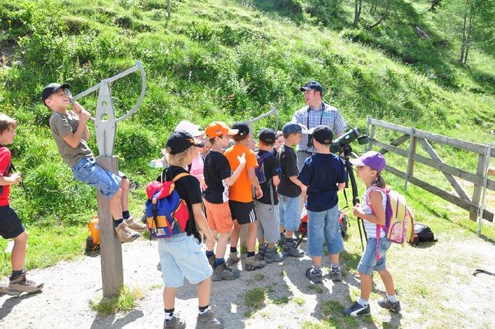 Abenteuer Klima Camps im Nationalpark Hohe Tauern