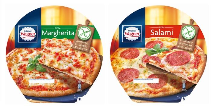 Neu in der Tiefkühlabteilung: Original Wagner Pizza - Glutenfrei