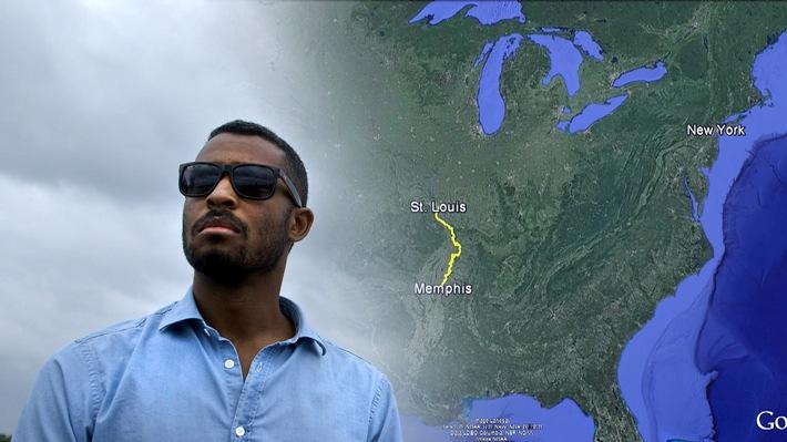 """""""Black in the USA"""": Sékou Neblett erkundet im ZDFinfo-Zweiteiler den amerikanischen Rassismus von heute und gestern"""