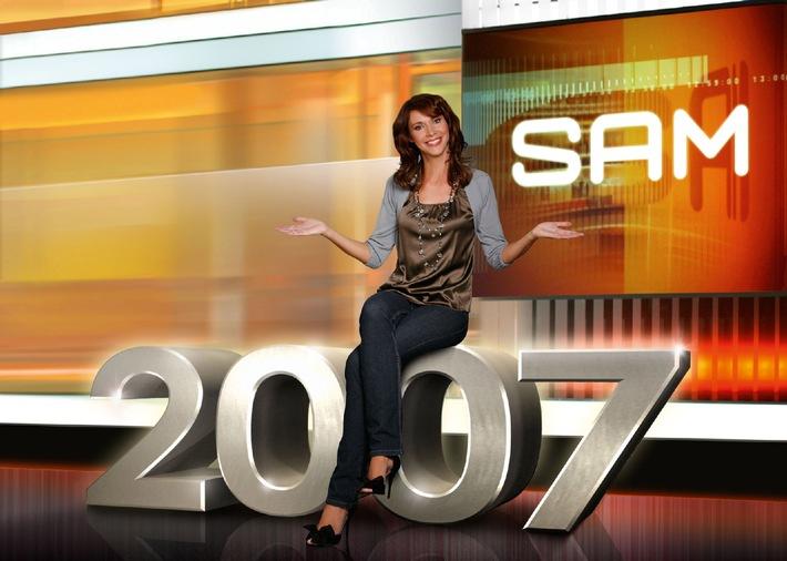 "2007 in 2007! Silvia Laubenbacher feiert ihre 2007. LIVE-Sendung ""SAM"""