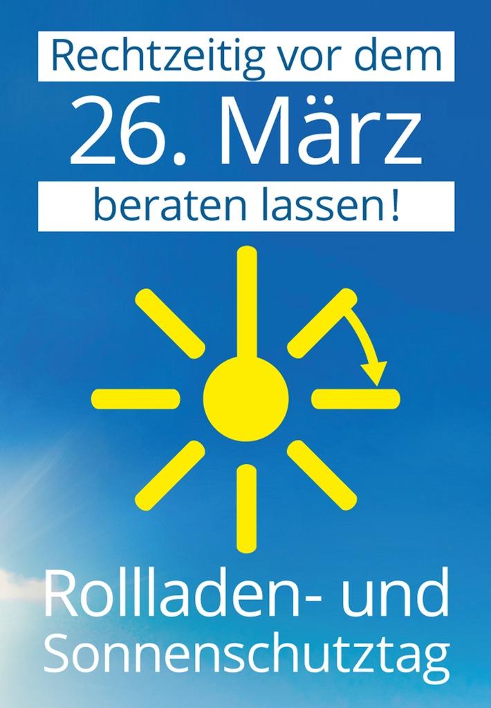 Rollladen- und Sonnenschutztag 2016 / Der Sommer kann kommen