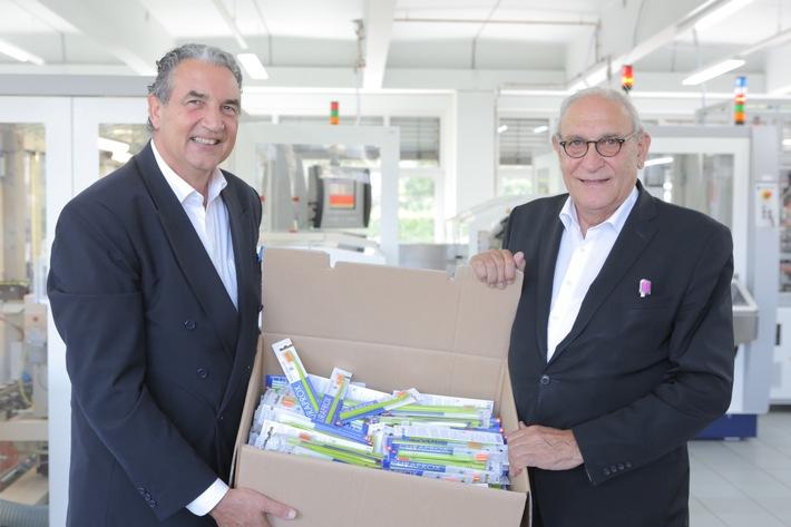 Curaden AG produit des brosses à dents en Suisse