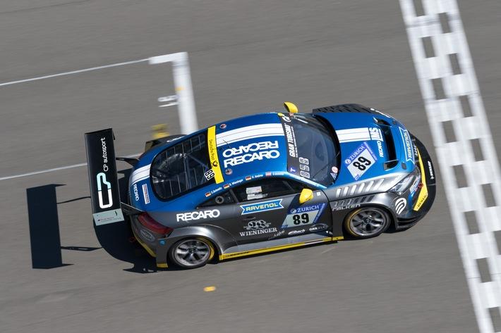 Klassensieg für das Recaro Automotive Seating Partnerfahrzeug beim ADAC Zurich 24h-Rennen