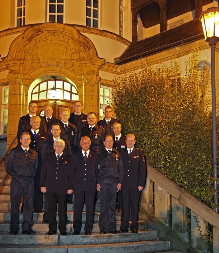 FW-E: Ehrungen der Freiwilligen Feuerwehr