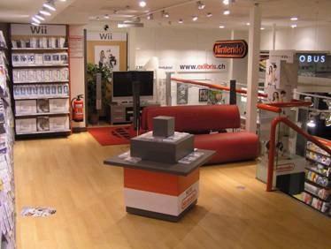 """Erster """"World of Nintendo""""-Shop in der Schweiz - Innovation in der Ex Libris-Filiale an der Bahnhofstrasse 79 in Zürich"""