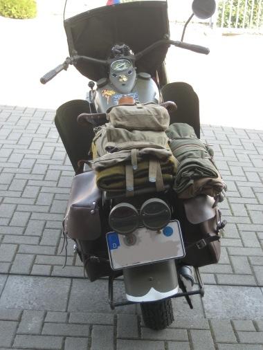POL-REK: Harley Davidson aus dem 2. Weltkrieg gestohlen - Brühl