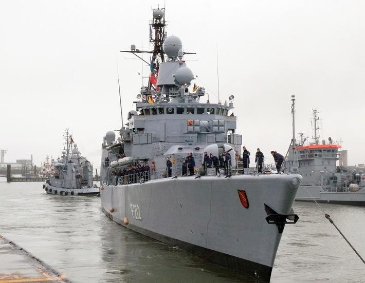 """Marine - Pressmitteilung / Pressetermin: Fregatte """"Karlsruhe"""" auf dem Weg nach Kanada"""