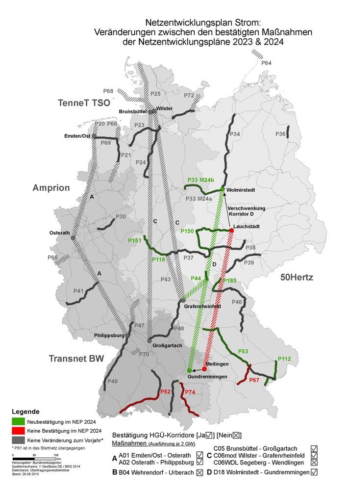 Stromnetzausbau - damit die Energiewende gelingt / Fakten und Hintergründe zum Netzentwicklungsplan