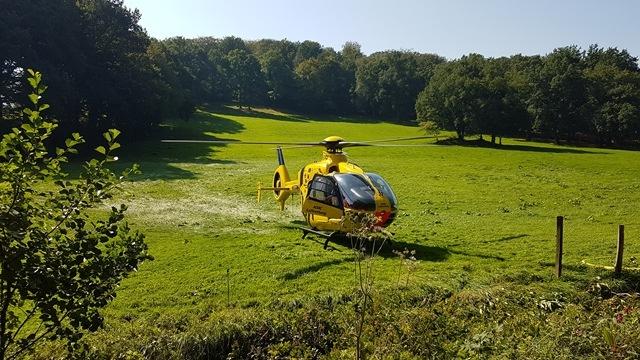 FW-EN: Hubschraubereinsatz nach Reitunfall