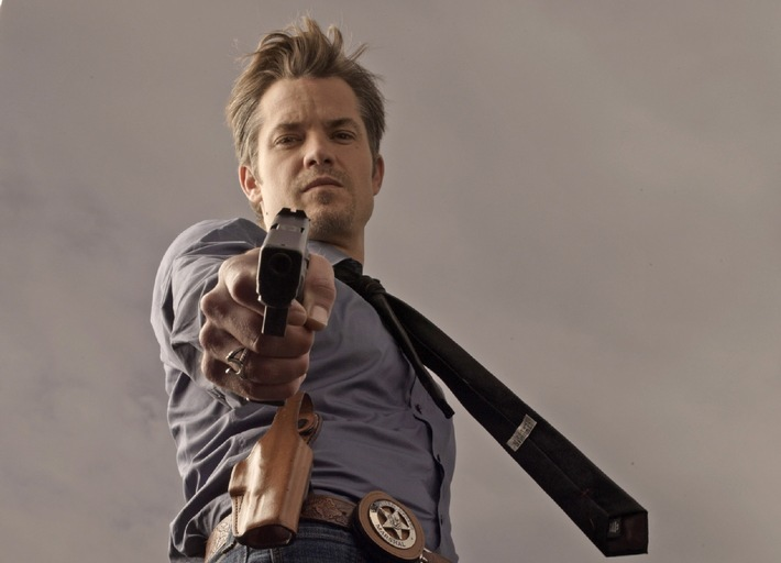 """Neuer Ärger für den Cowboy: Die preisgekrönte zweite Staffel """"Justified"""" mit Timothy Olyphant bei kabel eins"""