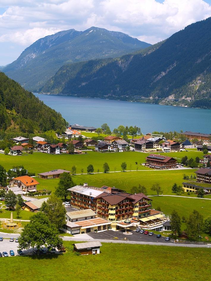 Das Pfandler am Achensee: Urlaub im größten Naturschutzgebiet Tirols