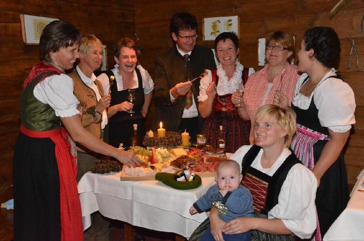 Landwirt trifft Gastwirt im Klostertal - BILD