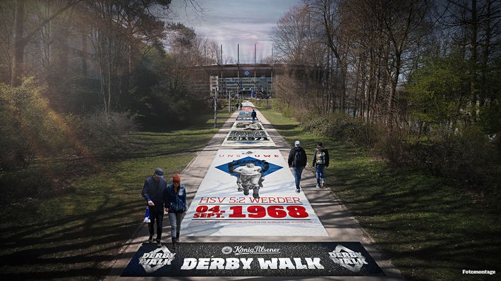 HSV-Presseservice: König Pilsener präsentiert: Der König Pilsener Derby Walk