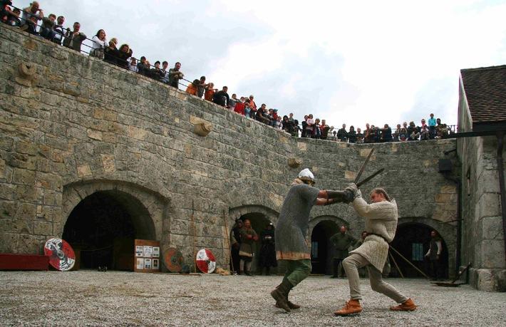 Ritter und Gaukler zu Gast im Ferienland Kufstein