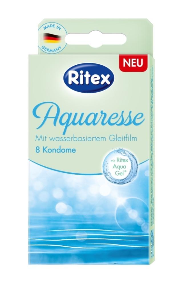 Die ersten Ritex Kondome mit wasserbasiertem Gleitfilm