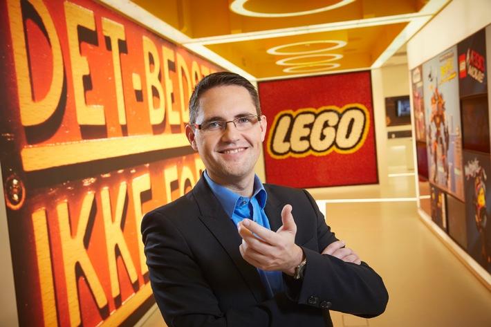 Wachstum der LEGO GmbH in DACH-Region bei 4,1 Prozent*