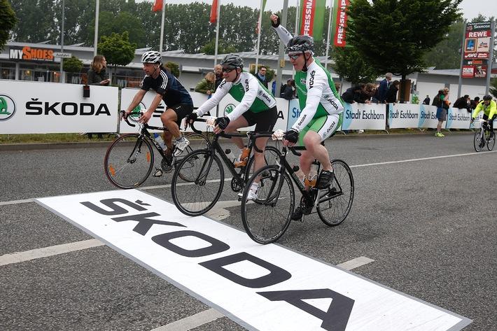 SKODA erneut Partner des Radrennklassikers 'Rund um den Finanzplatz Eschborn-Frankfurt'