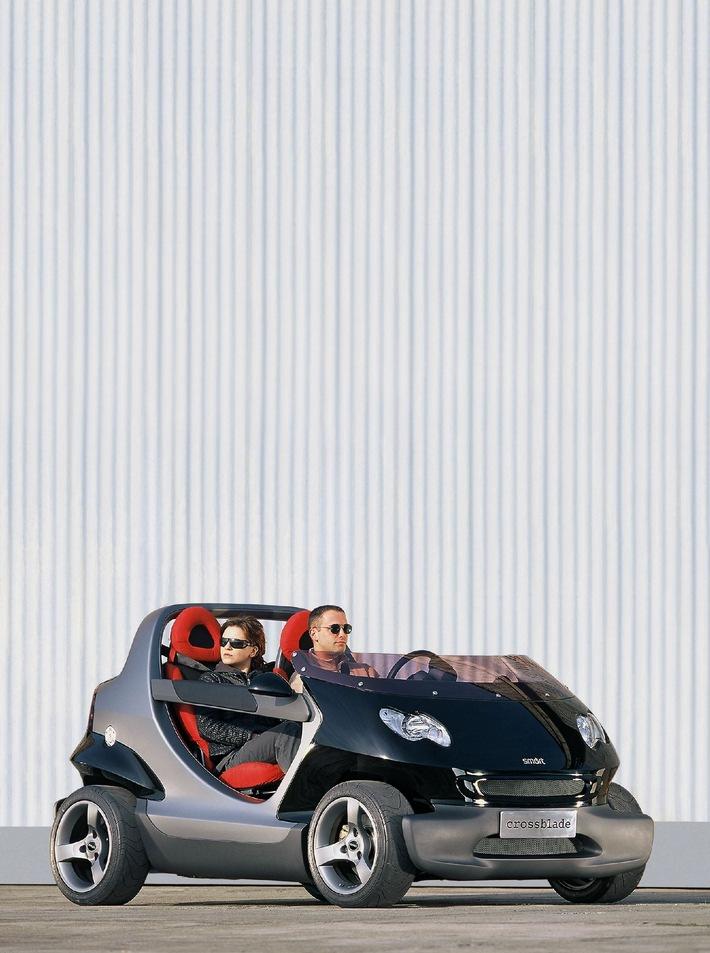 """showcar smart crossblade"" verkörpert Fitness und Dynamik"