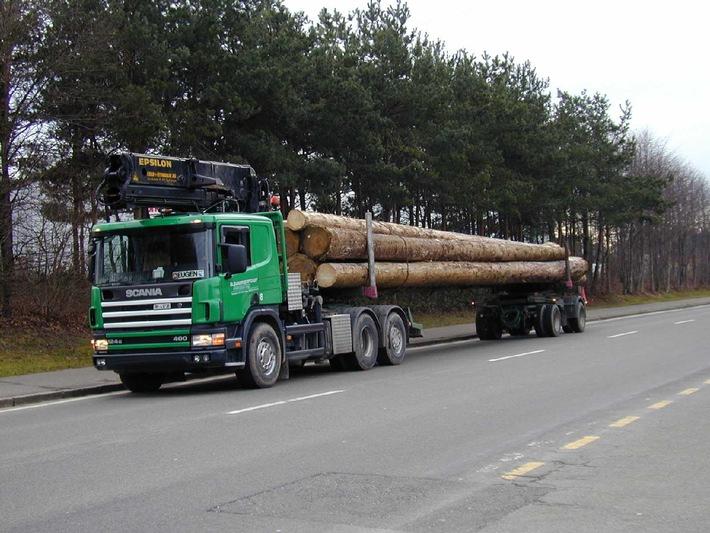 """ASTAG: Effizienter Abtransport von """"Lothar""""-Holz"""
