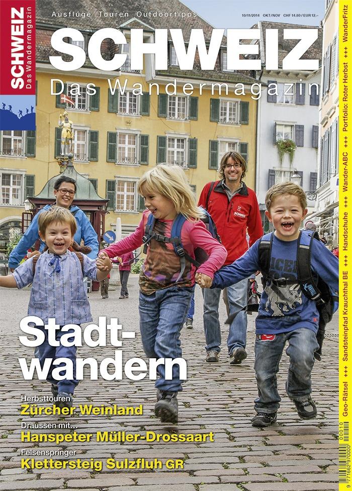 Wandermagazin SCHWEIZ: Lust auf Stadt